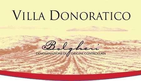 Villa Donoratico Tenuta Argentiera Bolgheri DOC