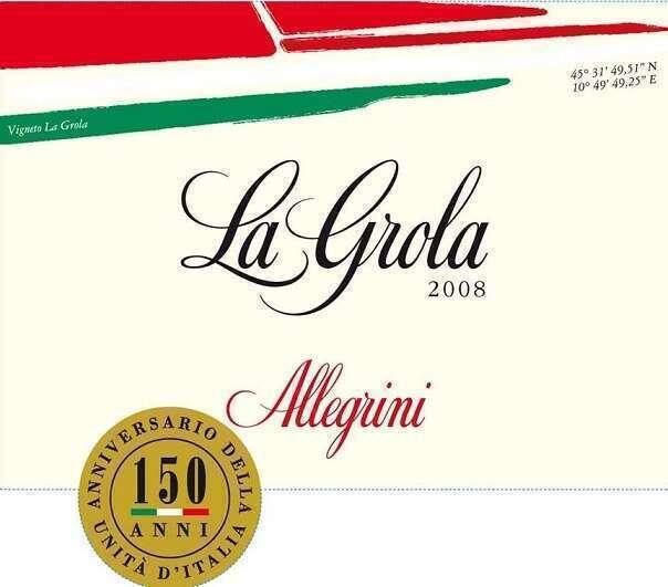 La Grola Allegrini 2008 Rosso Veronese