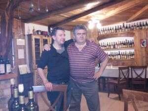 Il Blogger Enofaber e Vincent Grosjean