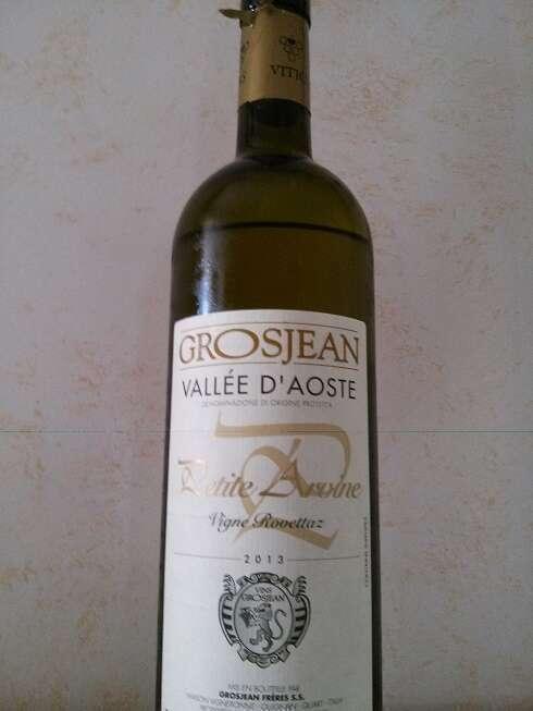 Petite Arvine Vigne Rovettaz Grosjean