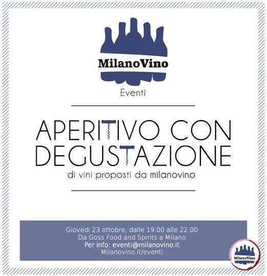 Aperitivo GOSS & MilanoVino.it