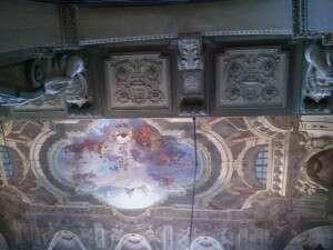 nBianco_Palazzo Carignano_Affreschi soffitto