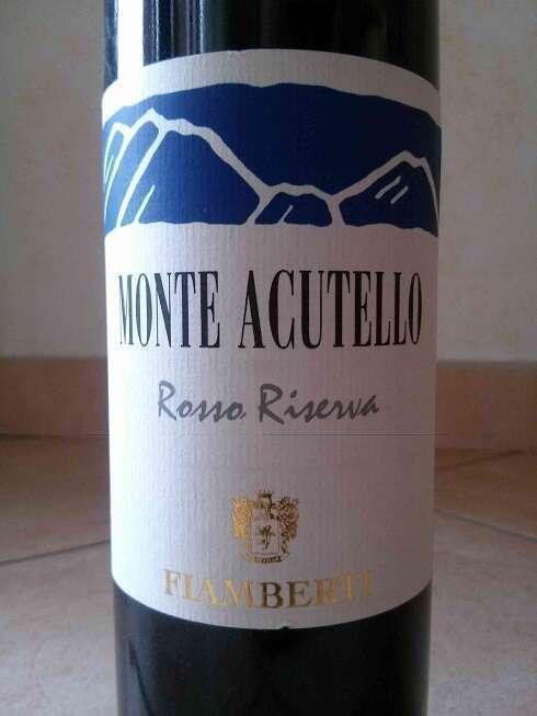 Monte Acutello Rosso Riserva 2007 Fiamberti