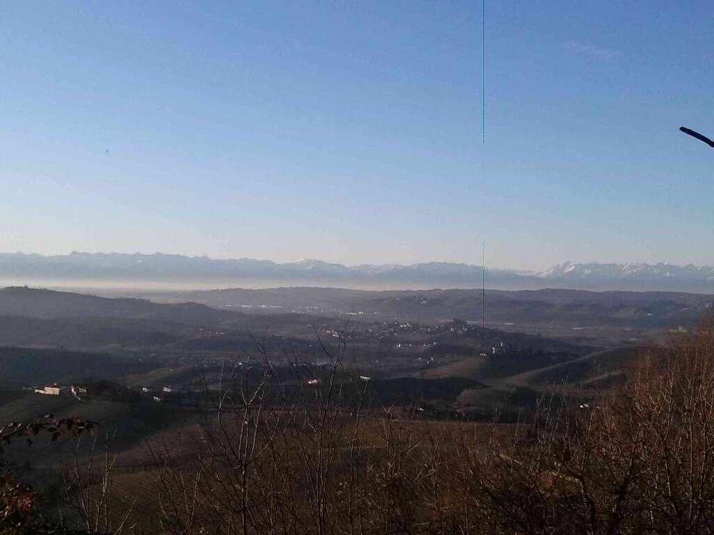 Panorama delle Langhe da Diano D Alba