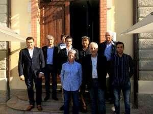 I produttori dell'Associazione Produttori di Nascetta del Comune di Novello