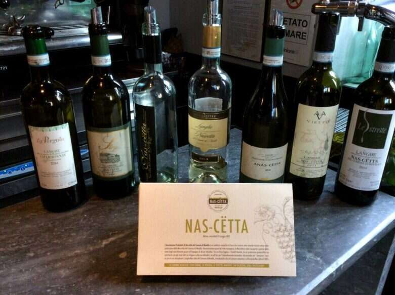 I vini Nascetta in Degustazione al Ratana