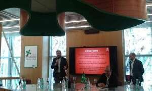 Il presidente Giulio Fiamberti e il Direttore Armando Colombi del Club del Buttafuoco Storico