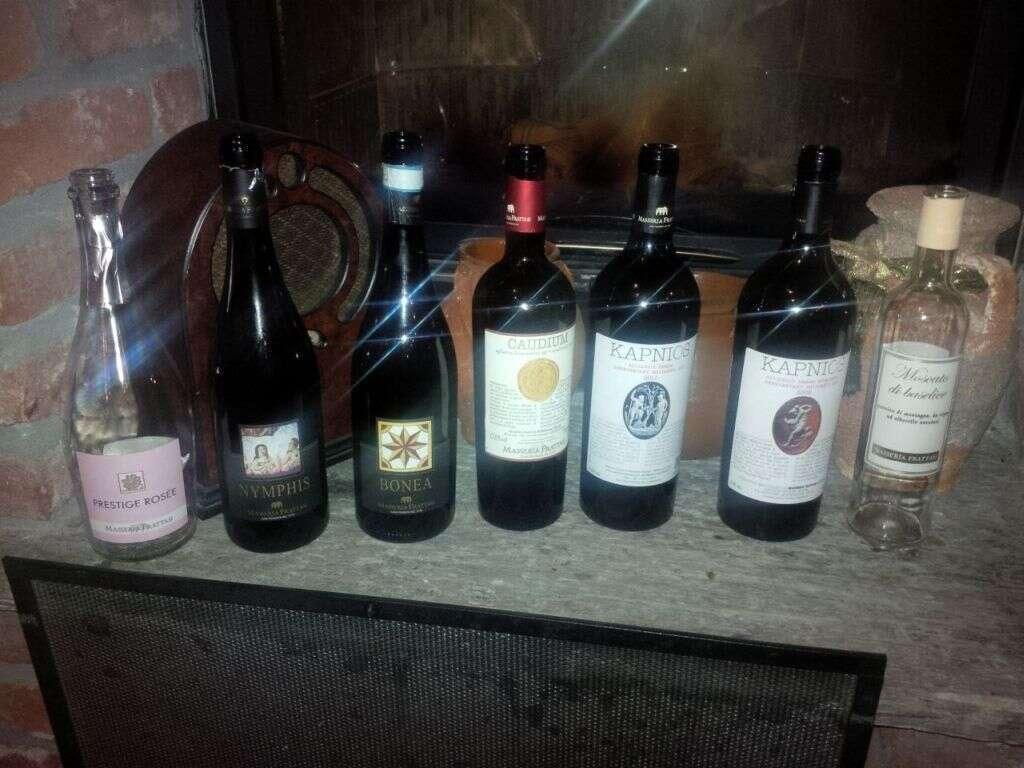Masseria Frattasi a Cascina Vittoria - Vini in Degustazione