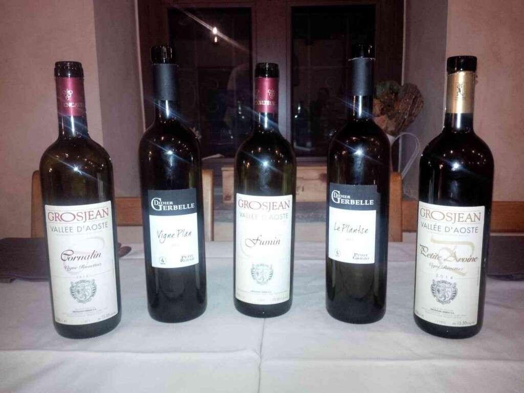 Enofaber presenta i Vini della Valle D Aosta di Grosjean e Gerbelle a Cascina Vittoria