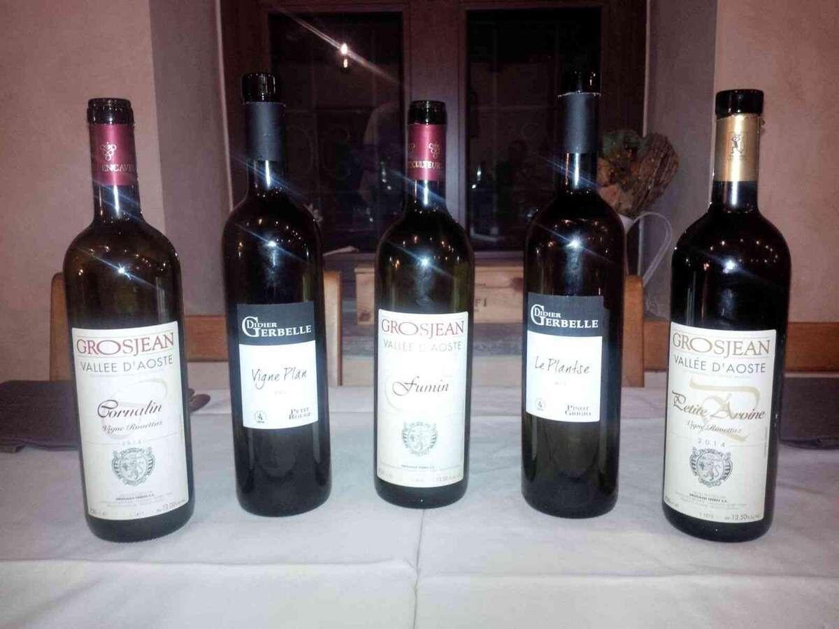 Degustazione Vini Valle D Aosta di Grosjean e Gerbelle a Cascina Vittoria