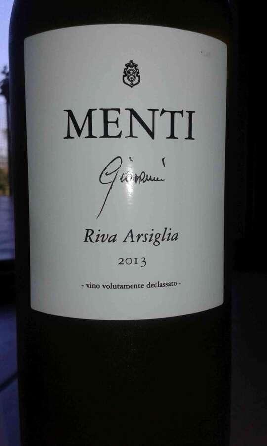 Menti - Garganega Riva Arsiglia 2013
