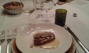 Sauvignon Blanc Arioso in abbinamento con Antipasto al Montalcino