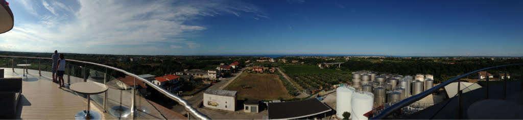 Panoramica da Cantina Frentana