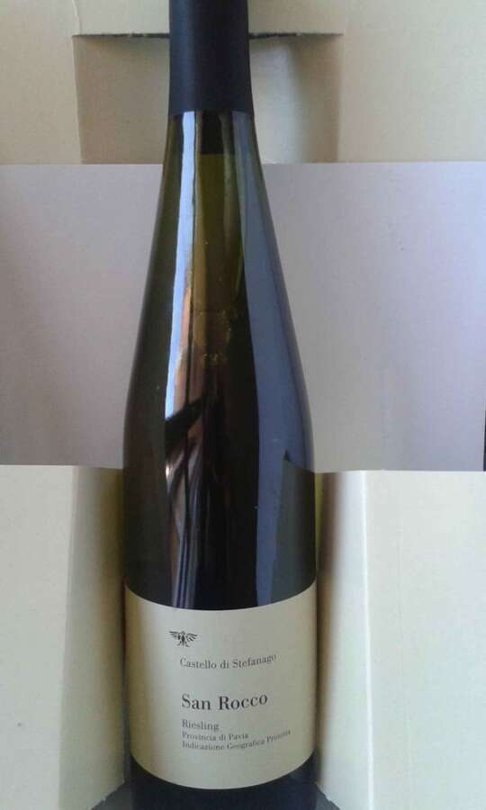 Riesling San Rocco 2010 Castello di Stefanago_Oltrepò Pavese