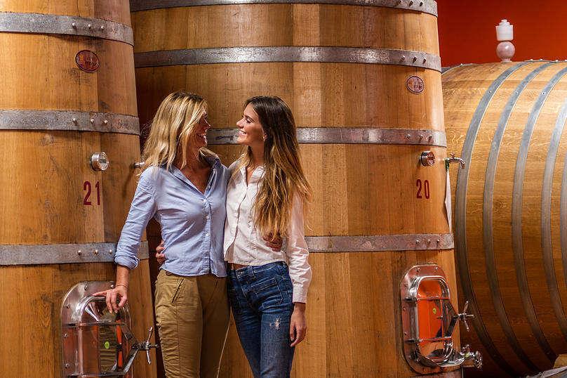 Giovanna Neri e sua figlia Diletta - Col Di Lamo