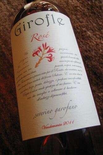 Girofle Rosé di Severino Garofalo 2011