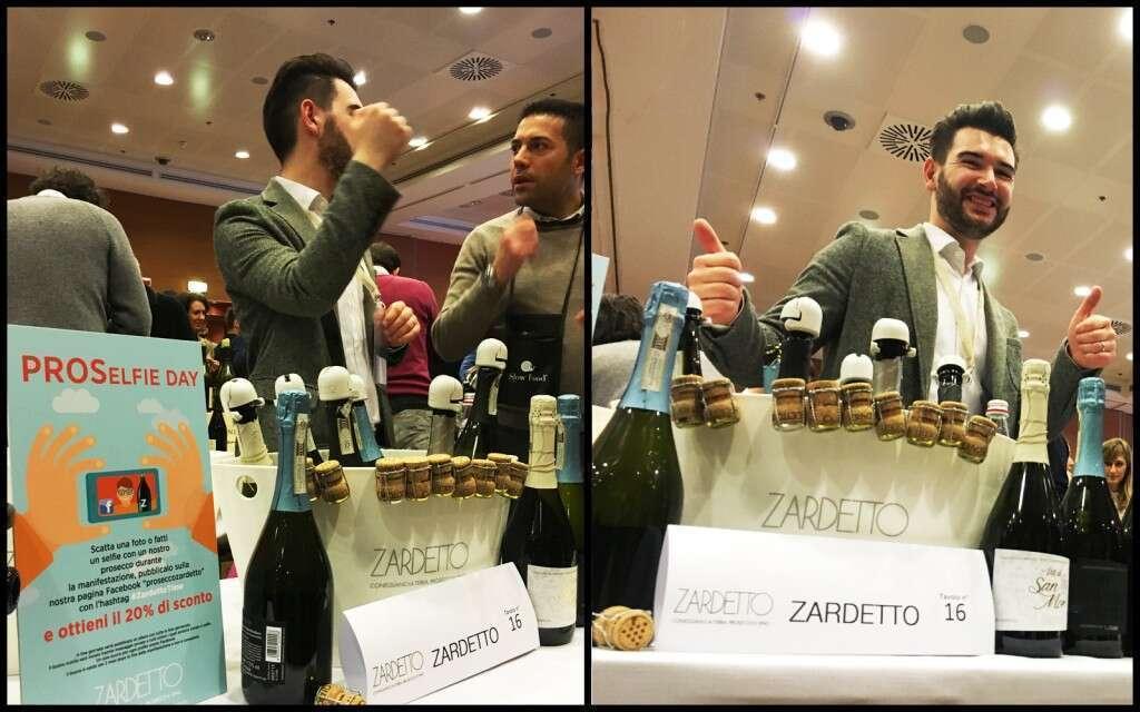 Zardetto Vini e il Pro Selfie Day