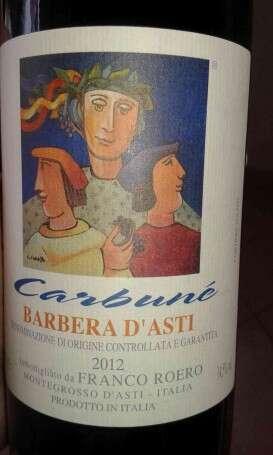 Barbera Carbuné - Barbera D'Asti Franco Roero