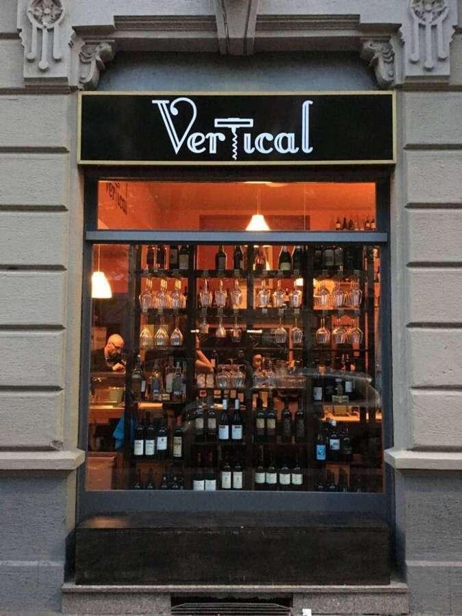 Enoteca Vertical Milano - Entrata