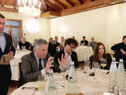 Degustazione Onav Treviso Vini in Anfora - Degustazione Vini in Anfora al Ristorante Le Querce