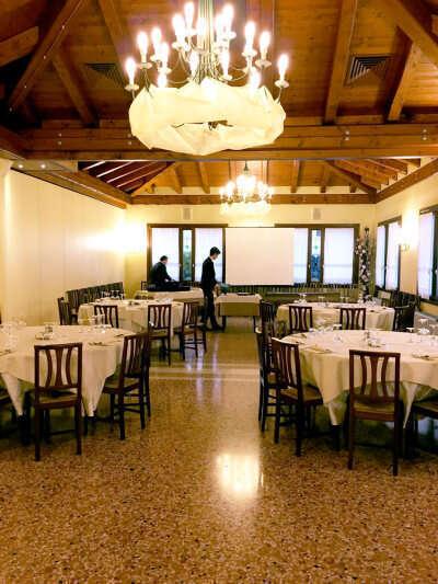 Degustazione Onav Treviso Vini in Anfora - Sala Degustazione Ristorante Le Querce