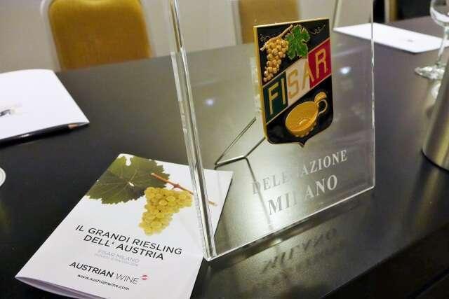 Degustazione Riesling Austriaco Fisar Milano