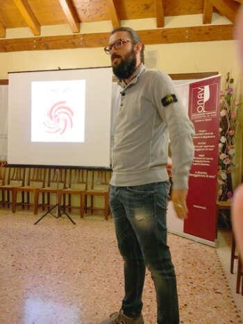 Maurizio Donadi di Casa Belfi a Degustazione Onav Treviso Vini in Anfora