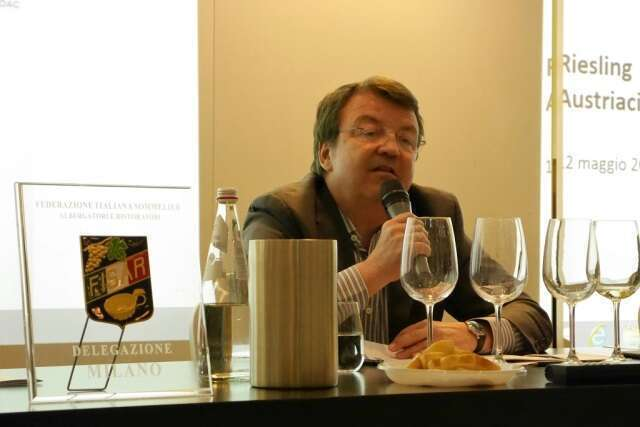 Degustazione Riesling Austriaco - Willi Klinger - Austrian Wine Marketing Board