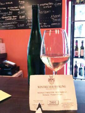 Wintricher Riesling Weingut Molitor al Vertical