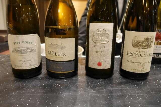 Bottiglie Riesling Austriaci Fisar Milano