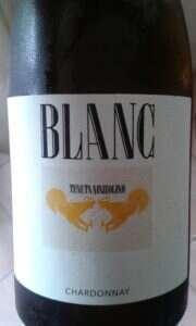 Tenuta Mazzolino Chardonnay Blanc 2014