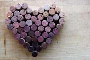 Tappo di Sughero - Un cuore di tappi di sughero
