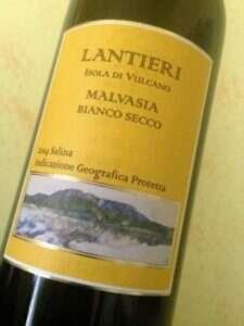 Malvasia Bianco Secco Salina Igp 2014 di Paola Lantieri