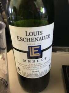 Louis Eschenauer - Merlot - Pais D'OC 2015