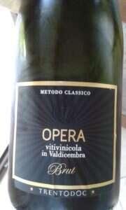 Trento DOC Millesimato Brut di Opera Valdicembra
