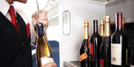 Vini in Aereo: cosa si beve in volo