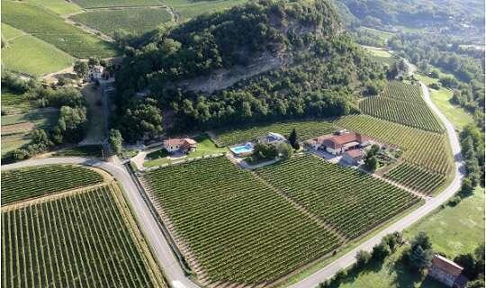 Azienda Agricola La Chiara - Vista aerea