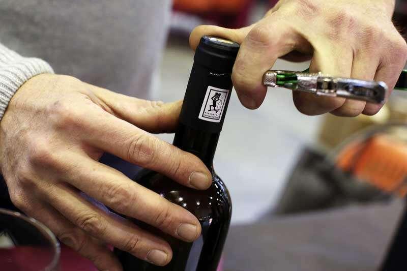 Logo Fivi in Bottiglia di Vino