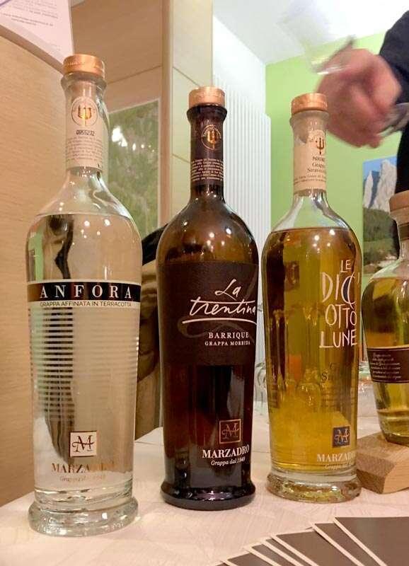 La Grappa Anfora e le altre Grappe di Distilleria Marzadro
