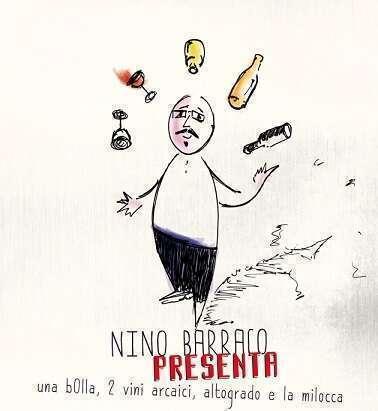 Locandina serata Nino Barraco - Infernot Pavia