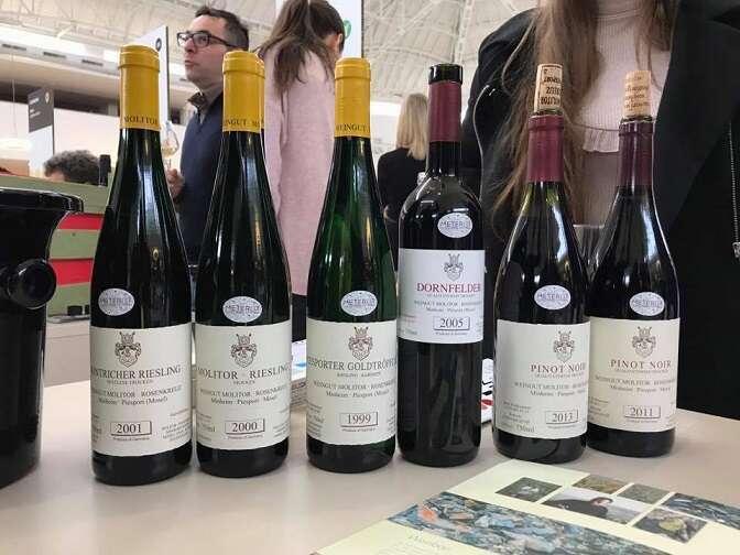 Riesling - Pinot Nero e Dornfelder di Molitor