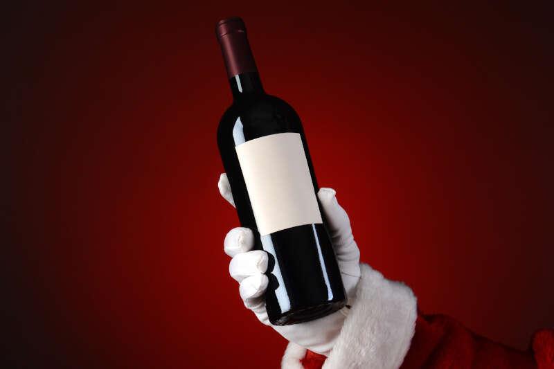 Regalare una bottiglia di Vino per Natale