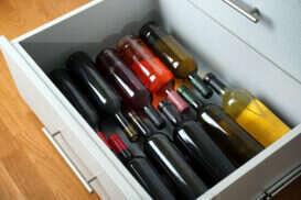 come conservare il vino - cassetta di legno