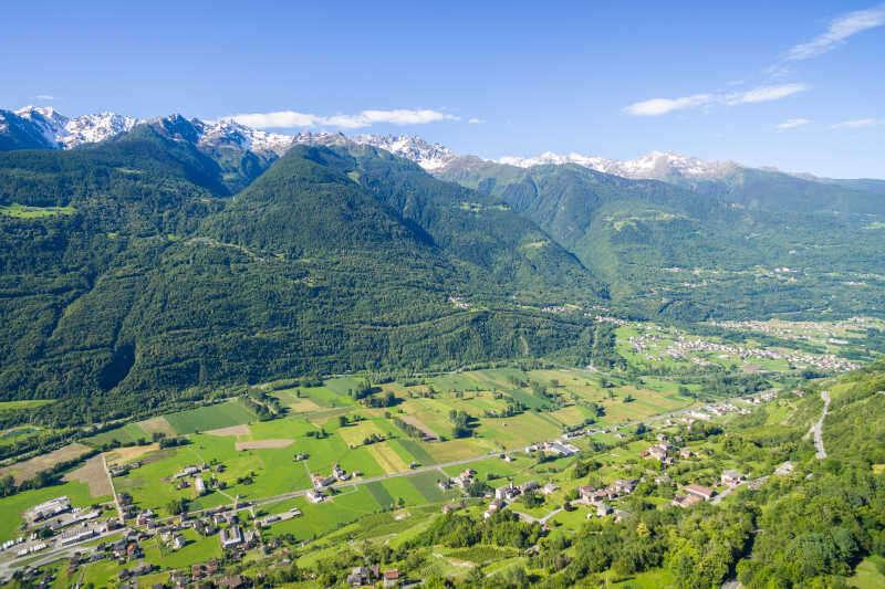 Panorama Valtellina