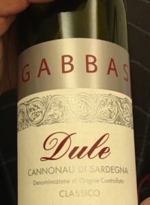 Cannonau Dule 2016 di Gabbas
