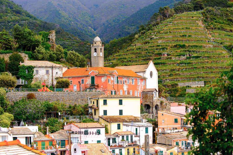 Vernazza - Chiesa e Terrazze
