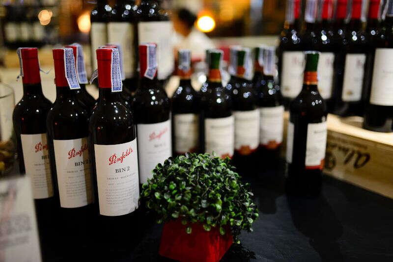 Bottiglie Shiraz Penfods Bin 2