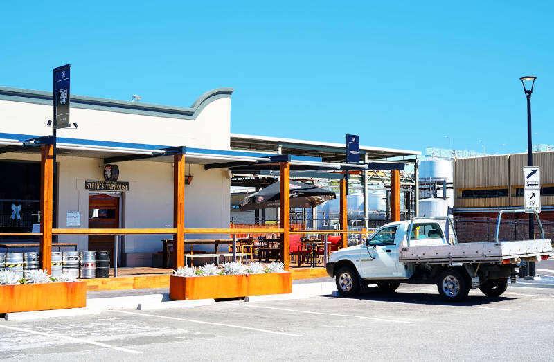 L'ingresso di Penfolds Wines - Australia Meridionale