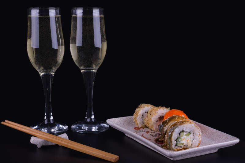 Bollicine e Sushi