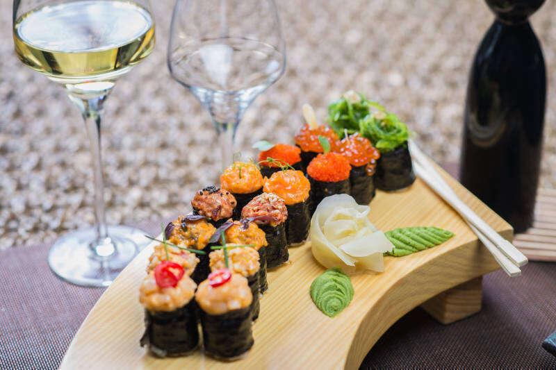 Vino Bianco per Sushi